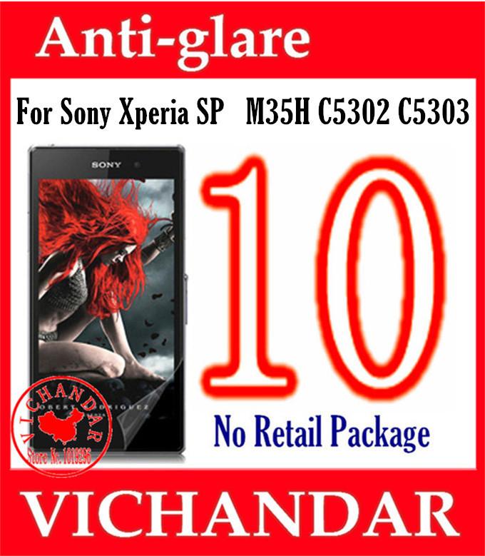 Защитная пленка для мобильных телефонов Sony Xperia SP M35H C5302 C5303,  10 for sony for xperia sp m35h m35 m35i c5302 c5303 lcd display screen tools free shipping