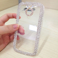 Diamond Case Slim Ultra-thin Clear Cover For Samsung Galaxy Trend Duos S7562 Trend Plus S7580 Phone Bag