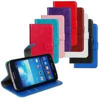 for Samsung GALAXY Express 2 G3815 Wallet leather case Flip Case Cover