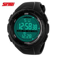 2014 Skmei Brand Men Wristwatch LED Digital Military Watches Fashion Dress Sports Watch Dive Swim Outdoor Casual Wristwatches