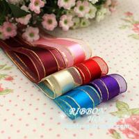 satin ribbon 25mm 2.5cm ribbon  gift packing ribbons bow decoration ribbon