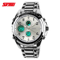 SKMEI 1021 50M waterproof watch car model Men Sports Watch Fashion Wristwatches dual display LED personality Military Watches