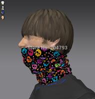 multi wear skull tube  magic bandana
