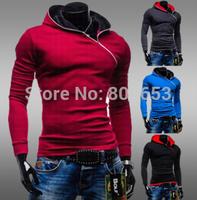 Hot Tracksuits Men Winter Hoodies 2014 new men's Hooded Fleece Hoodie sweatshirt men hooded pullover coat