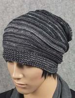 Womens Mens Knit Baggy Beanie Beret Hat Winter Warm Oversized Ski Cap