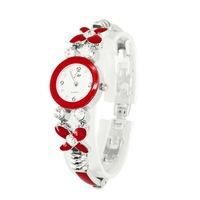 Lady's rhineston bracelet wrist watch,causal dress watch F066