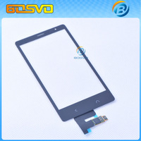 High quality replacement parts new for Nokia X2 X2DS 1013 touch screen digitizer panel with flex cable 1 piece free shipping