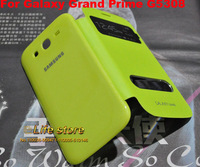 Wallet Leather Case Mobile Phone Battery Case Cover Touch Window Caes For Samsung Galaxy Grand Prime G530H G5308 G5308W