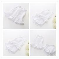Hu Sunshine wholesale 2014  new arrival summer fashion high quality white cotton Sling t-shirts WW11272602H