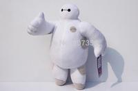 Big Hero 6 Baymax Robot Hands Moveable Stuffed Plush Animals Toys Dolls 12inch 30cm Christmas Gfit 50pcs/lot