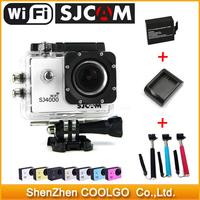 100% Original WiFi Version SJ4000 Action Camera Diving 30M Waterproof Sport Camera 1080P Full HD Car DVR Gopro Camera Style