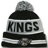 Men Women Los Angeles Kings Embroidery knitted Beanies Brand Winter Ice Hockey Sports Skullies Hats caps Cheap , free shipping