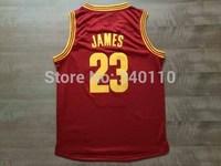 2015 Lebron James #23 Basketball Jersey Cleveland #2 Kyrie Jerseys Uniforms Vests Wholesale Embroidery Free Shipping