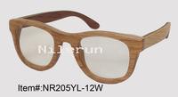 wood reading glasses