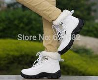 2014 Brand Cotton Winter Snow Boots Women's Platform Fashion Autumn High Warm Fur Ankle Charming Jogging Shoes Villus 36-41