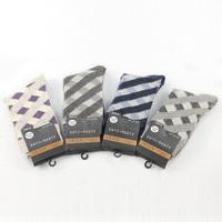 Free Shipping New 2014 Mens Socks Rabbit and plaid wool socks men's winter warm socks 10 pairs/lot