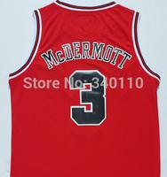 Free Shipping Jersey Chicago Doug Mcdermott Jersey #3 Cheap Basketball Jersey Authentic Shirt Stitched Wholesale Sport Jerseys