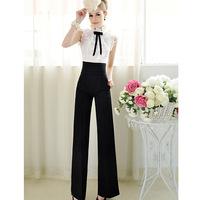 High Waist Pants New 2015 Fashion Summer Women Dress Patchwork Casual Harem Pants Casual Trousers Vestidos Leggings S-XXL