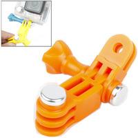 Hot Sale TMC Mount 3 Way Adjustable Pivot Arm Screw Bolt for GoPro Hero 4 / 3+ / 3 / 2 Orange Free Shipping