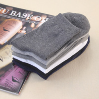 Brand New Hot SALE Autumn Casual 100% Cotton Socks Men Ankle Socks  High Quality Free Shipping/20 pair=40pcs /lot