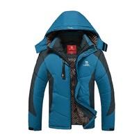 2014 New Brand Fashion Down & Parkas Outdoor Hood Warm Windproof Winter Jacket Men Casual Men's Hooded Jacket Free shipping