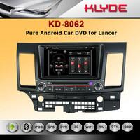 Lancer Car DVD head unit with gps navigation player Bluetooth IPOD Radio free SD Navitel map No TV