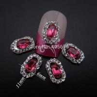 Glitter rhinestones Oval diamond wedding nail art decorations scrapbooking products supplies   MNS724