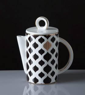moderno preto e chocolate branco café padrão aparelhos/móveis, acessórios para casa/jóias correspondência/atacado(China (Mainland))