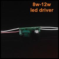 100pcs/lot 8-12W LED Driver,240/280/300MA LED Transformer power supply For Lamp lighting