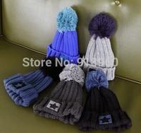 2014 winter  Knitted women  beanie , Crochet casual  Hats,New star design warm Caps/ctw