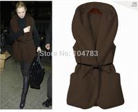 girl coat  women  ladyOpen Stitch  outwear  fashion vest  XT_003519 free shipping