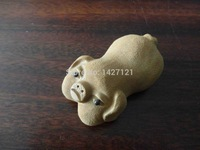 Yixing naive pig ornaments in four colors