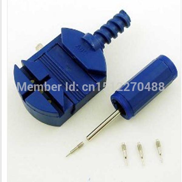 Free Shipping Durable Watchmaker Tool 3 Pin Watch Band Link Pin Remover Strap Adjuster Opener Repair(China (Mainland))