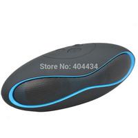 50pcs portable mini speaker wireless bluetooth speaker pick up phone call hand free with fm radio loud speaker for cellphone #X6
