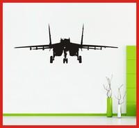 W056 AEROPLANE LANDING STRIP wall art sticker vinyl PLANE