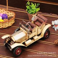 Metal vintage classic cars model metal nostalgic craft home decoration gift