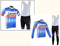 2014 cycling jersey! Men's blue Bike Jersey Short Sleeve Cycling Clothing Bicycle Suits BIB pants