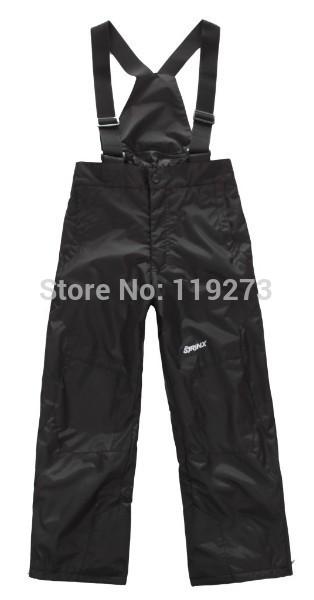 2015 New Girl Boy Fleece Winter Skiing Pant Belt Hiking Camping Trousers Snowboarding Big kids outdoor wear Plus size(China (Mainland))
