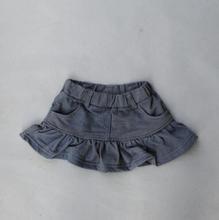 Kids Brand High Quality Children's Clothing Cotton Baby Girls Lotus Skirts(China (Mainland))