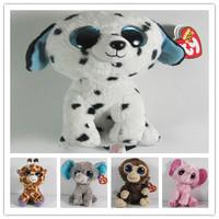 2015 NEW TY BEANIES BOOS  PLUSH animal plush big eyes doll Stuffed TOY.gift for kids christmas.free shipping
