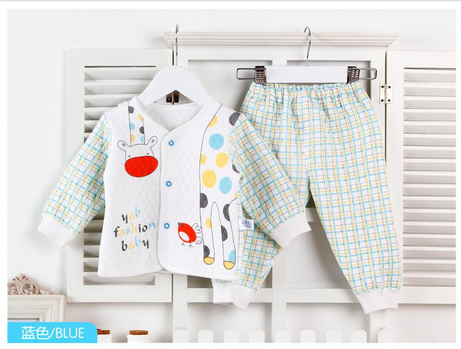 Baby thermal underwear new bamboo fiber clothes(China (Mainland))