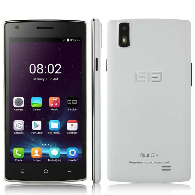 Desbloqueado Original Elephone G4 5.0 polegada IPS MTK6582 Quad Core 1 GB RAM 8MP GPS 3 G Android 4.4 telefone celular móvel russo espanhol(China (Mainland))