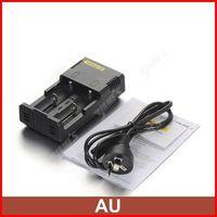 ( 5 pcs/lot ) Nitecore Intelligent I2 Universal AAA C Battery Charger For 18650 CR123A Li-ion Battery AU Plug Wholesale