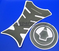 10set/lot For Kawasaki ZX-10R Z1000 ZX-6R GTR Two-in-one Fishbone Carbon Stickers and Fuel Tank Gas Cap Cover