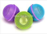 3.5mm  Plugs Creative Mini Music  Speaker build in Lithium battery Cute Music Ball Audio