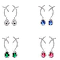 Earrings for Women Luxury Excellent Cut Cubic Zirconia Drop Earrings  Jewelry for Women Gift