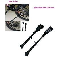 Adjustable 2014 New Bicycle Cycling Side Replacement Kickstand Kick Stand Bike racks  Kit free shipping