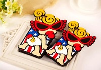 1pc/lot new 3D Hysteric Mini Pacifier B Silicon Nipple Sister Skin Case Cover For iPhone 6 6 plus 4.7/5.5 inch case cover