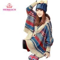 European Womens Sweater Clothing Batwing Sleeve Knitting Geometric Lady Cardigans Jacket coat Casual Women Sweaters Tops S12801