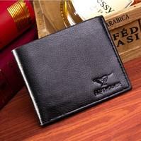 2014 new design hot fashion men boy short wallet coin purse card holders handbag hign quality free shipping
